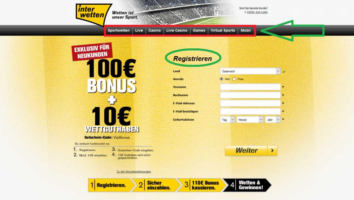 Günstiges Interwetten App Download erhöht Wettchancen