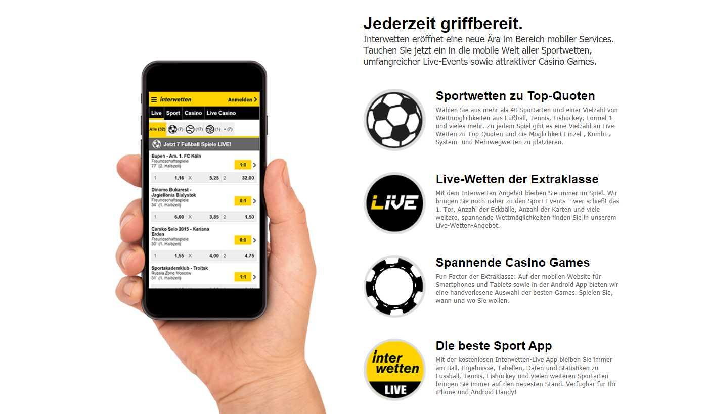 Live Casino Interwetten gestaltet Ihr Spiel abwechslungsreich
